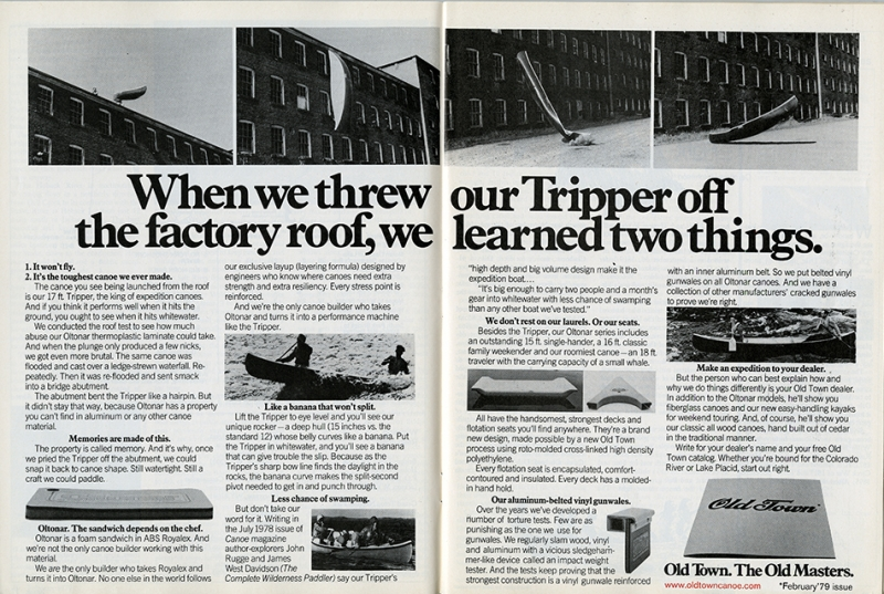 1979_Old Town Canoe Ad