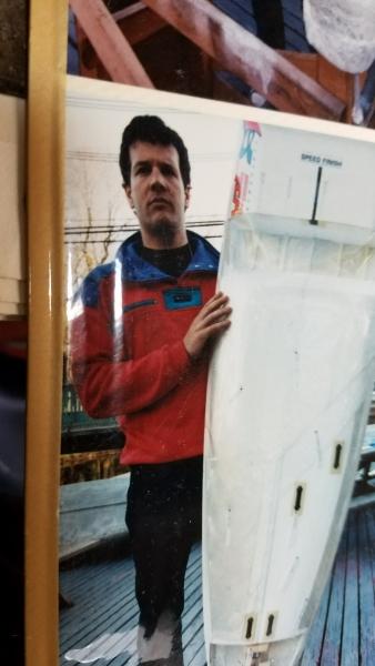 "Chris ""Shred"" Yandow at C-Boat"