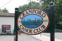 Current Cranford Canoe Club Sign
