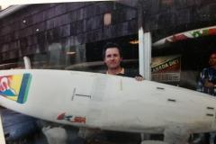 Randy French at C Boat
