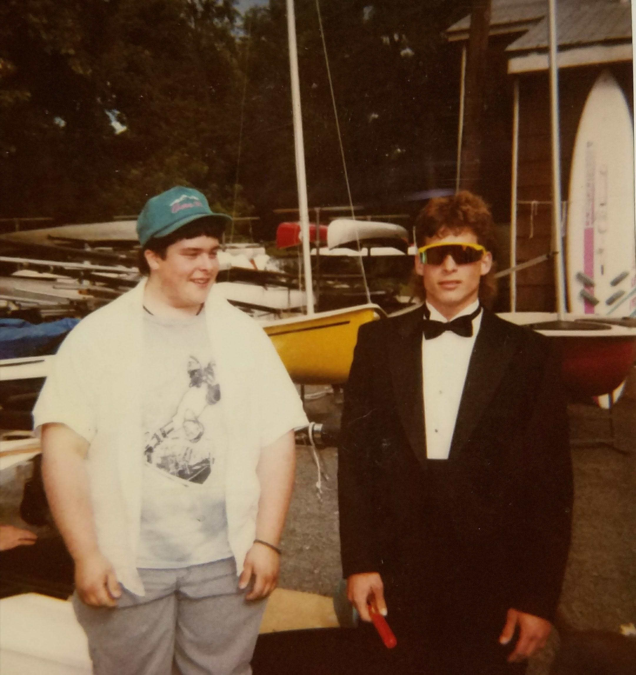 Scott and Brian Mack