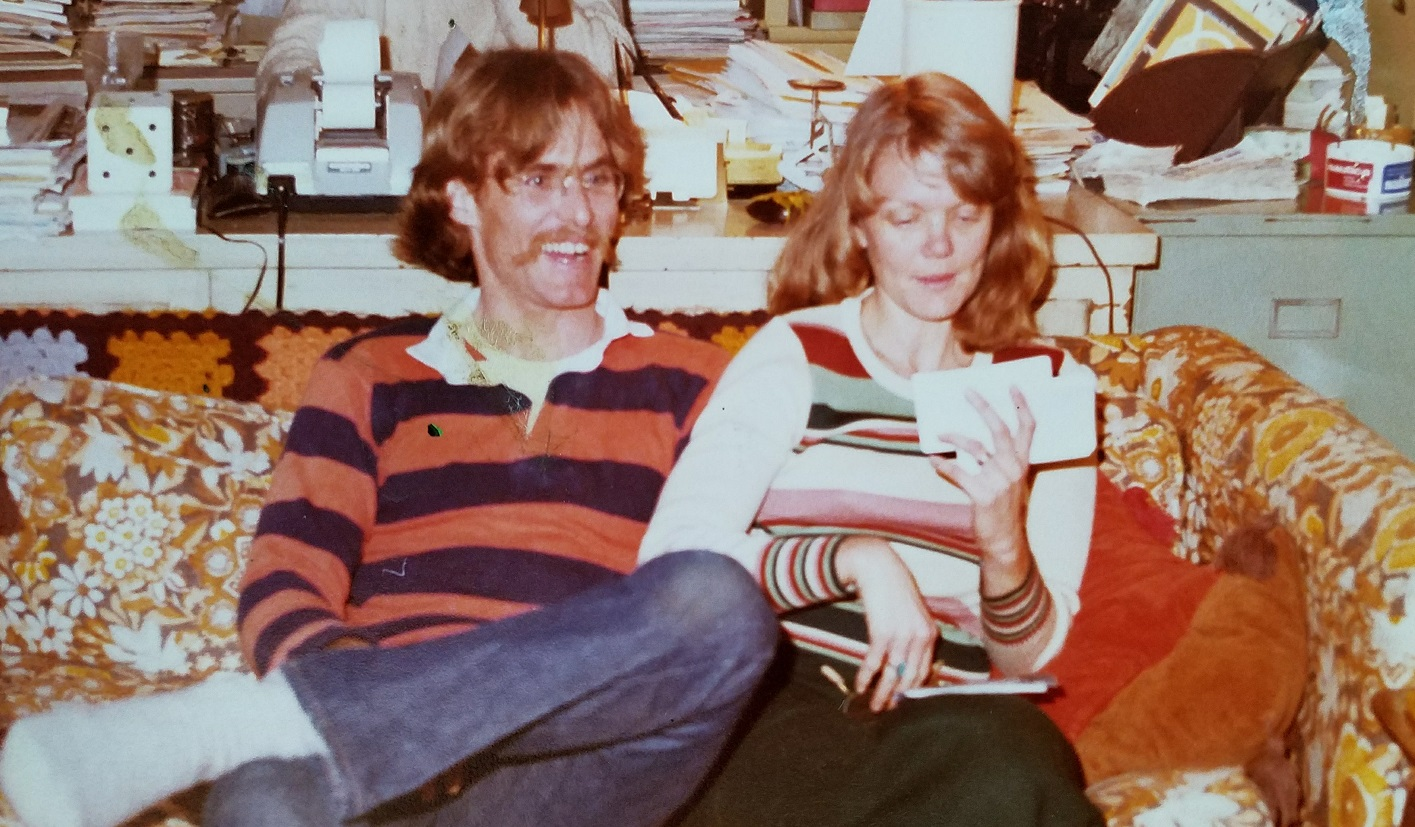 Skip and Karen Harrison in the early 1980's
