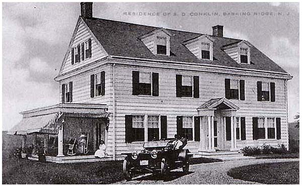 Widow Whites Tavern in Basking Ridge, New Jersey - Mr. Local History Archive #mrlocalhistory