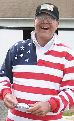 Nick Foster the American Flagman