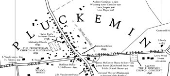 The sleepy village of Pluckemin was key in 1778