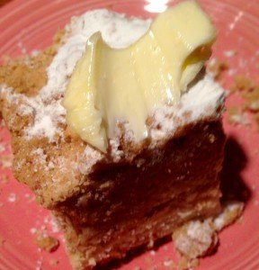 Crumb Cake with Butter