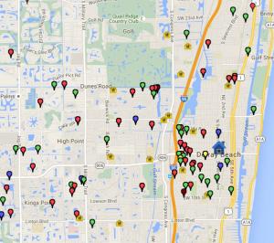 Crime Map Mashup