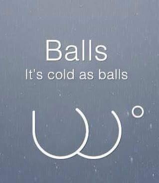 cold as balls