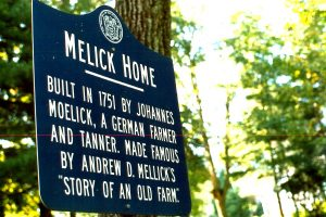The Melick family is one of Bedminster's first and has a long history of being one of the areas largest orchards.