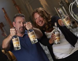 Brant and Krista , the first get the prized NJ Craft Distillers license since Prohibition.