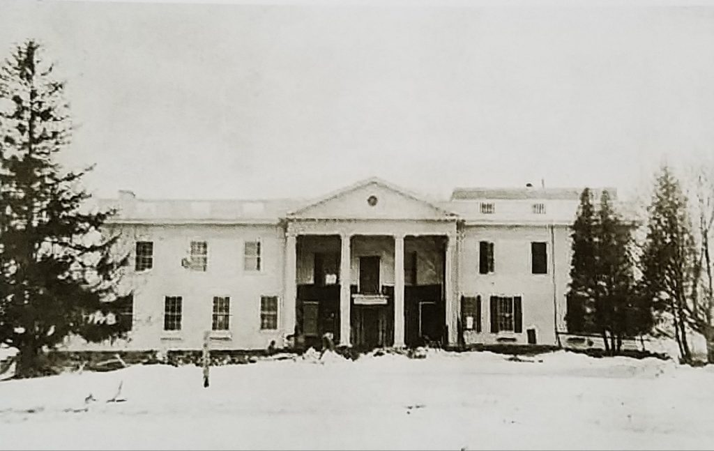 President Trump's summer white house was built in 1939 and called Lamington House