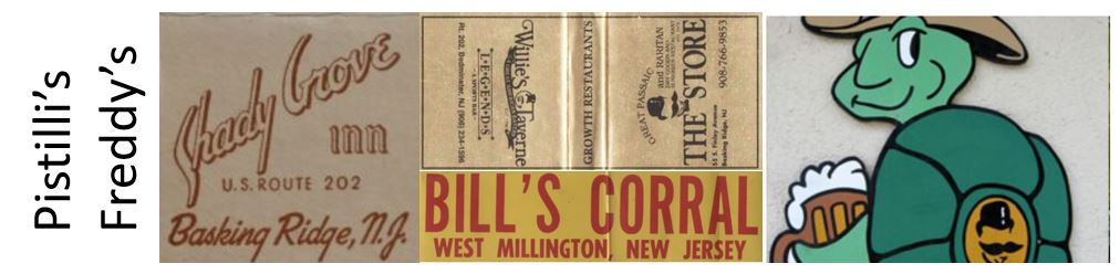 Somerset Hills Bars of the past - Mr Local History