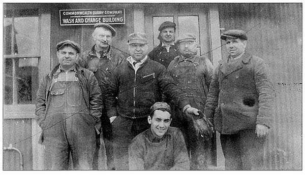 Mr Local History Archives - Quarry Workers in the 1920s - mrlocalhistory