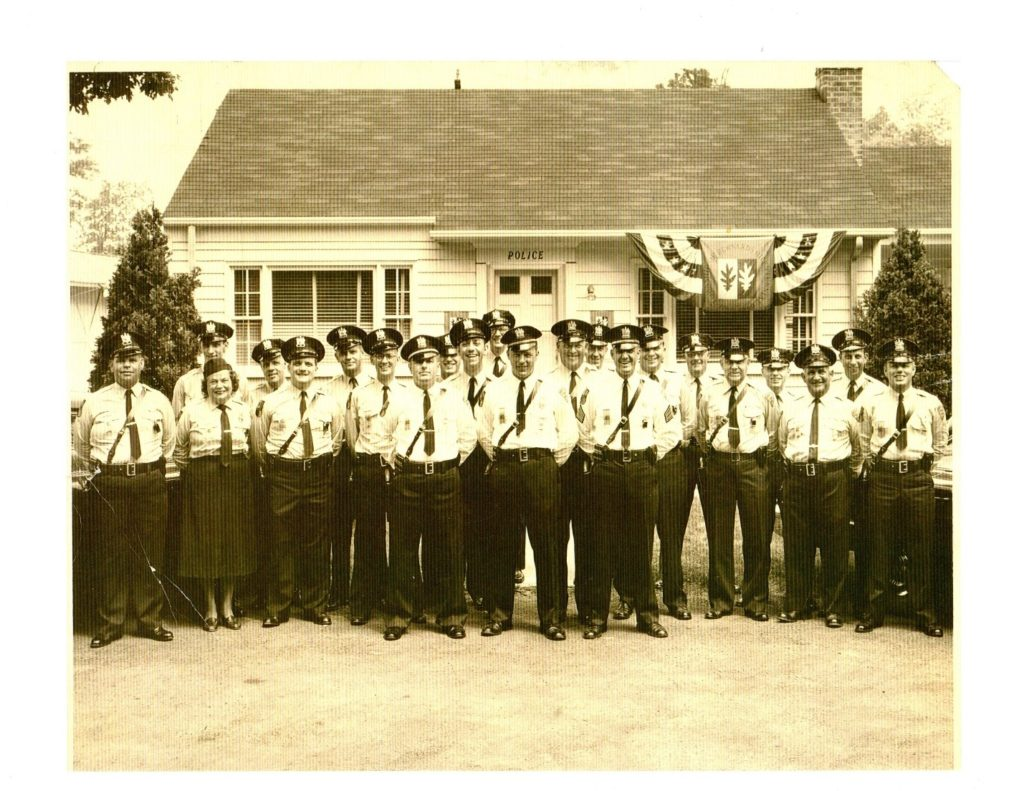 Police Department, May 1960, with 22 personnel. Source: Bernards Township Police Department