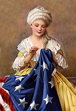 Mr. Local History Archives - Betsy Ross in Basking Ridge