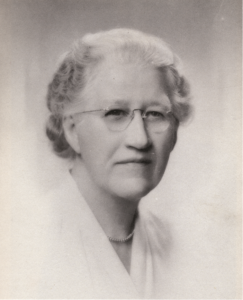 Mrs. Elizabeth Gill of the Gill School - mr. local history