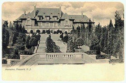 C. Ledyard Blair built the famed Blairsden Estate in Peapack, New Jersey.
