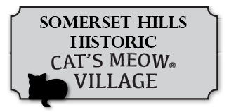 Somerset Hills Historic Cats Meow Village Logo