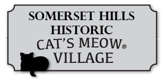 Somerset Hills Historic Cats Meow Village Logo