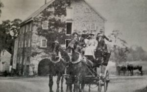 """There is the story of the runaway """"Phantom Carriage"""" that has been spotted by residents who often stopped at night outside the Grain House. Credit: The Historical Society of the Somerset Hills"""