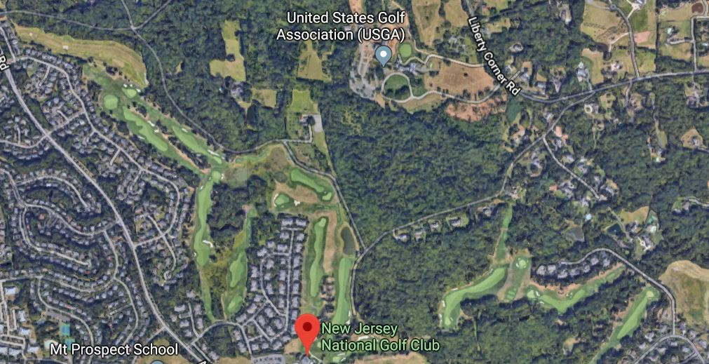 From the air you can see that the NJ National Golf Course and Harry Dunham Park were close to being full USGA properties.