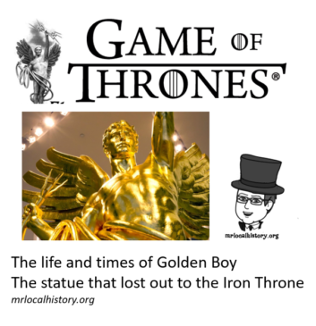 Golden Boy - once a resident of Somerset County, NJ gets his own dose of Game of Thrones
