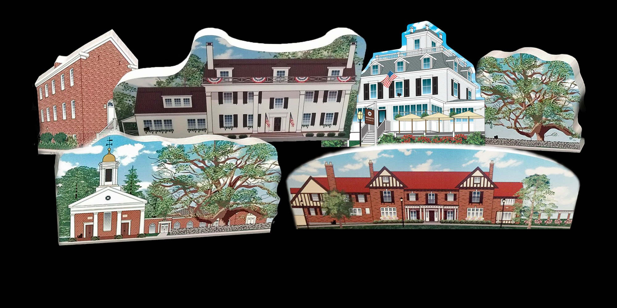 The Cat's Meow is one of the worlds most iconic collectible series. Mr. Local History started creating the Somerset Hills Historic Village back in 2018. Each year we launch new additions based on community input.