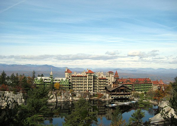 Mohonk_Mountain House  - Near New Paltz New York