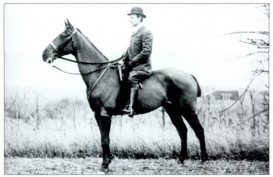 "IF you need to know one person, the man is Charles Pfizer on his horse Duke of York in 1902 - The Mr. Local History Project believes that he is the ""Father of the Race""."