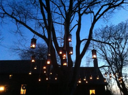 Hanging lanterns were part of past Colonial Christmas events at the Vanderveer House. Don't miss this great event.