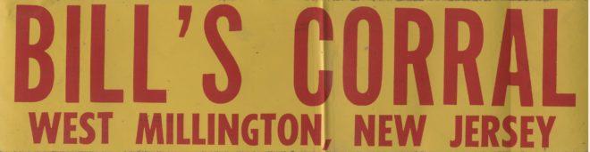 Bills Corral West Millington, NJ