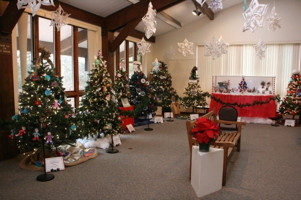 The annual Festival of Trees at the EEC in Basking Ridge off Stirling Road.