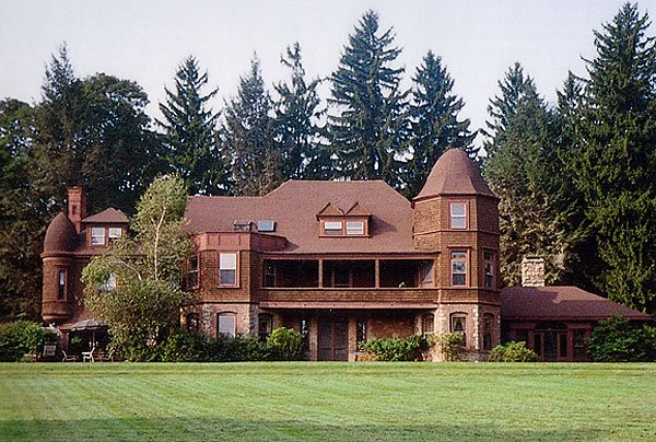The Yademos (sometime spelled backwards) Estate of Charles Pfizer- known as the Father of the Race Meeting.(originally built by George I. Seney in 1881) off Mendham Road in Bernardsville