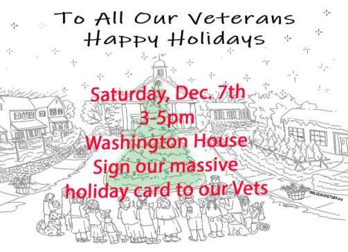 Come out on the patio as we also are creating and signing cards for our Troops. You color, you write, and we send on the town's behalf.