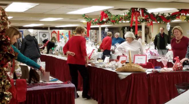 The Winter Market at Bishop Janes Church