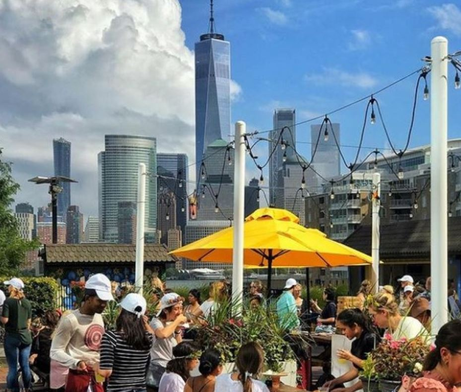 """The District Kitchen in Jersey City is the closest we've seen to being a true """"Food Hall""""."""