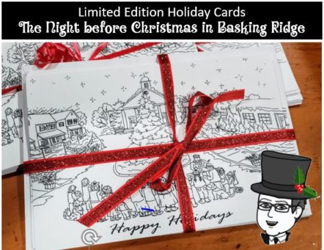 Click here and order your limited edition Night before Christmas Cards. Available in our gift shop while supplies last.