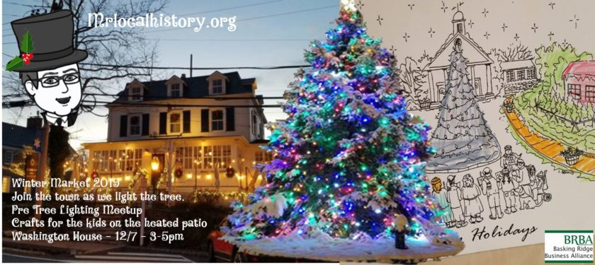 2019 Basking Ridge Pre Tree Lighting Meetup and Kids Craft Event