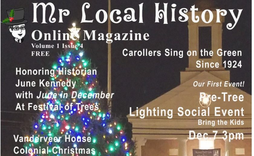 Our free Magazine - The Mr. Local History Holiday Edition