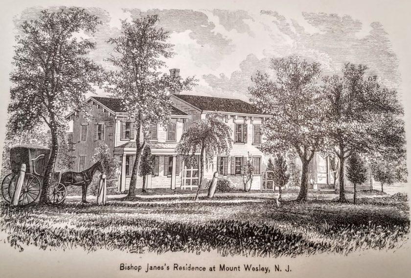 Bishop Janes Bernardsville home c1850