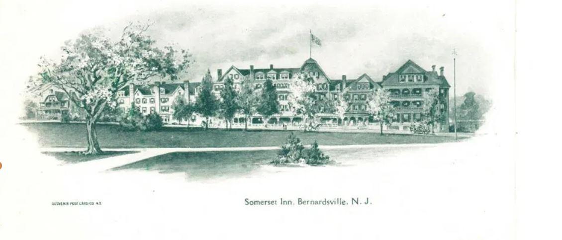 The Historic Somerset Hills Inn on Bernardsville Mountain