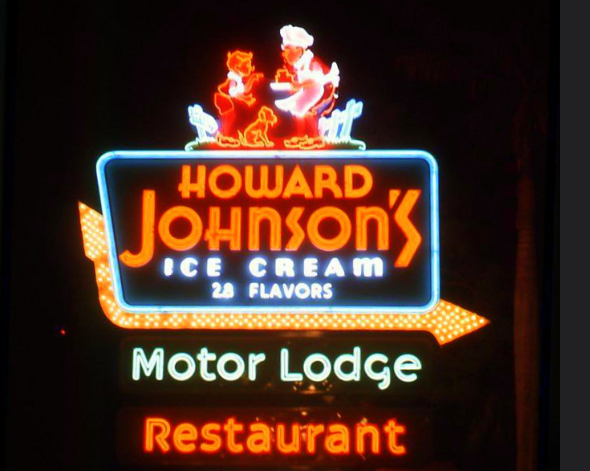 The famed Howard Johnson's sign that crossed America - Mr Local History
