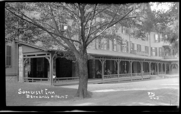 The Somerset Hills Inn, built from the former Bishop Janes estate served the Mountain Colony for years until a fire destroyed the property in 1908.