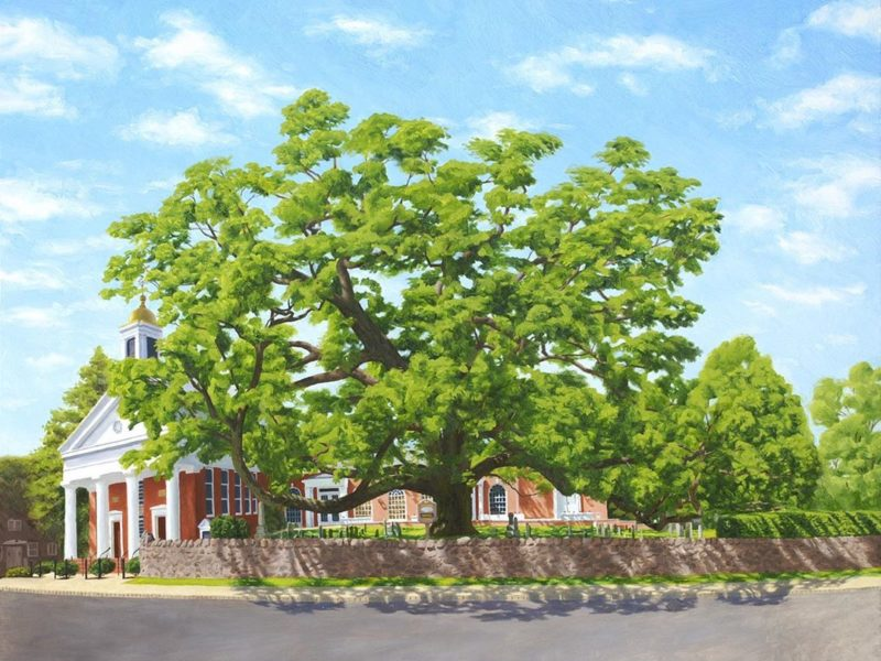 Basking Ridge Oak Tree Art Show - Unknown