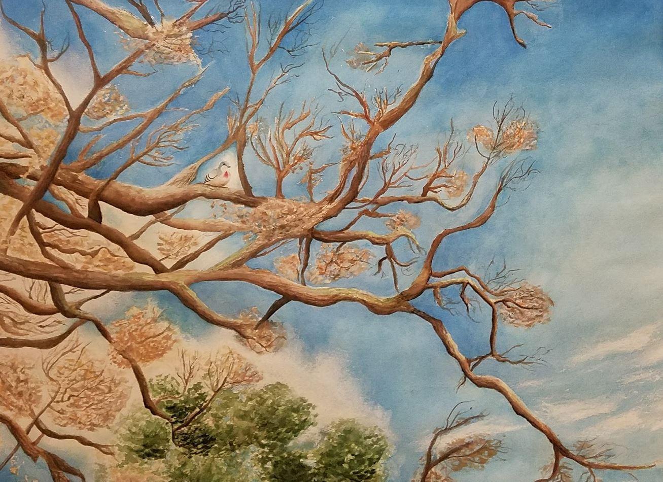 Oak Tree Art Show - Brick Academy