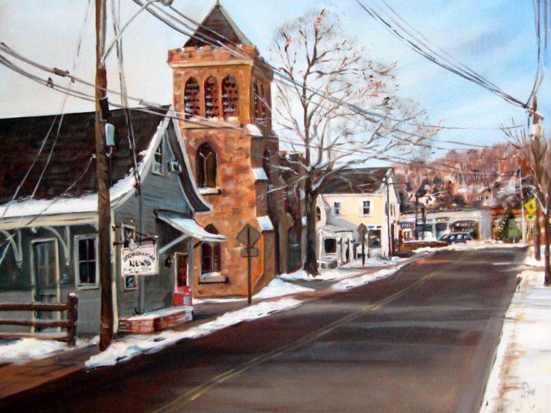 Bernardsville News and Bernardsville - Artist - Alex Bigatti