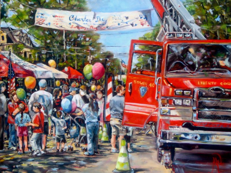 Basking Ridge Charter Day - Artist - Alex Bigatti