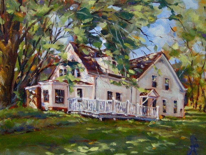 Kennedy Martin Stelle Farmstead House by Alex Bigatti