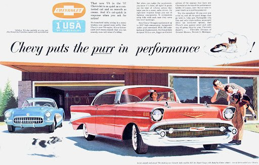 Werring Chevrolet Basking Ridge 1957