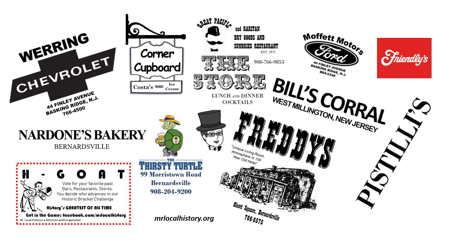 Are you ready to REMEMBER? Businesses we loved and lost in the Somerset Hills - Mr. Local History #HGOAT